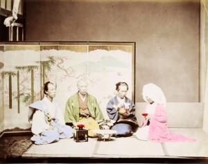 フランス国立ギメ東洋美術館・写真コレクションより 山茂堂「結婚式」1870 年代 © MNAAG.
