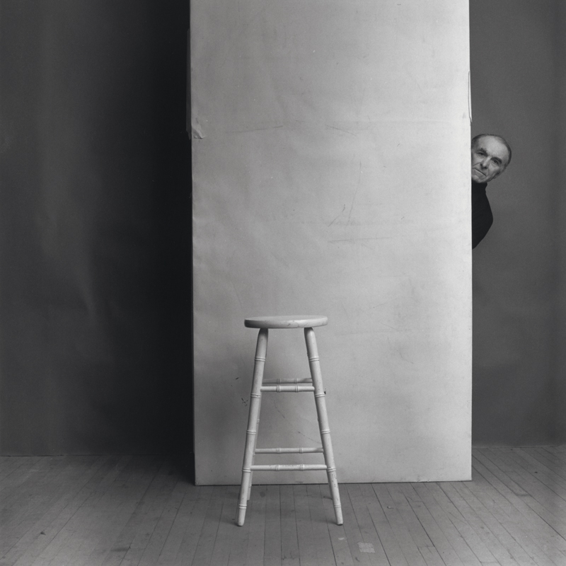 アーノルド・ニューマン「ロベール・ドアノー、写真家」ニューヨーク、1981年 © 1981 Arnold Newman / Getty Images
