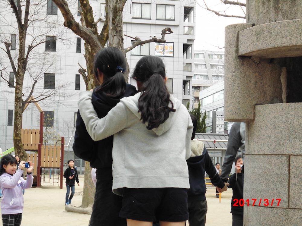"16 近藤花奏「友情の絆」Kaneda Kondo ""Friendship"""
