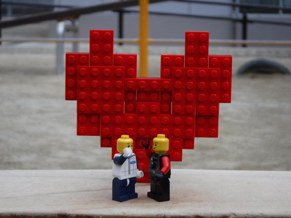 """37 森川大暉「LEGOになってもいっしょの2人」Daiki Morikawa """"Togeter forever in  the world of LEGO"""""""